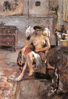 Edouard Vuillard / Chair of the models