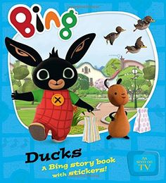Buy Bing Ducks at Mighty Ape NZ. A gorgeous new story book to accompany the new CBeebies preschool series. Bing, Sula and Flop are off to feed the ducks. Will Bing learn t. Bing Bunny, Blue Peter, Book Summaries, Early Learning, News Stories, Book Recommendations, Childrens Books, Ducks