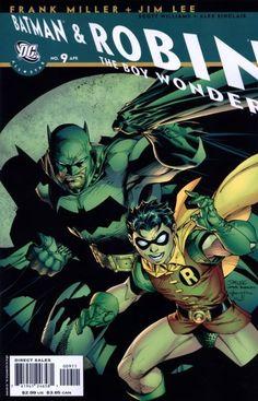 all-star batman & robin the boy wonder #9 by frank miller, jim lee, s. williams, and a. sinclair (april 2008)