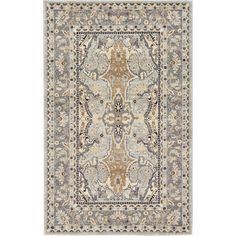 RugPal Kasha Oriental Gray Area Rug & Reviews | Wayfair Traditional Furniture, Traditional Design, Area Rug Sizes, Area Rugs, Online Home Decor Stores, Rugs Online, Animals For Kids, Persian Rug, Oriental Rug
