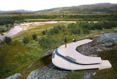 Storberget Viewpoint and Rest Stop Area by Pushak | Landezine | Bloglovin'