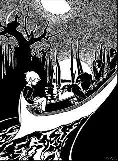 """Mopsa the Fairy"" (1927). Illustration by Dorothy P. Lathrop"