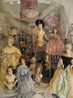 Some of Vanna Hoyt's boudoir dolls