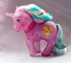 GHOST PONIES  My Little Pony Vintage G1 Star Glow Glow N Show