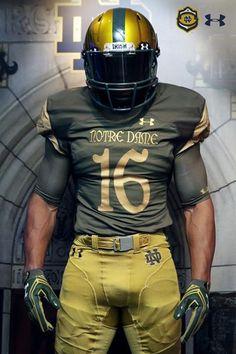 ND 2016 Shamrock Series Uniforms. Jenny Swift · Love thee Notre Dame 5ec2a2523