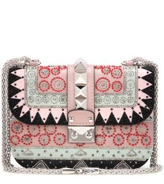 mytheresa.com -  Ballet Russes Lock Small embellished leather shoulder bag - Luxury Fashion for Women / Designer clothing, shoes, bags