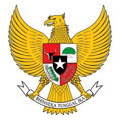 Garuda Pancasila is the national emblem of Indonesia. The symbol derived from Garuda , the mythical bird vehicle of V. Camo Wallpaper, Teen Wallpaper, Ribbon Png, Foto 3d, Mythical Birds, Eagle Pictures, Frame Border Design, Wedding Album Design, Powerpoint Design Templates
