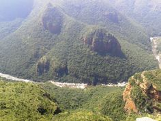 A great view of the river at Blyde River Canyon. #Panoramaroute www.outlook.co.za