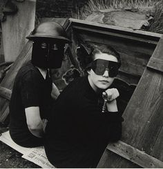 Women Firewatchers, London  Lee Miller for British Vogue  1940