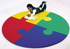 Round Puzzle Mat