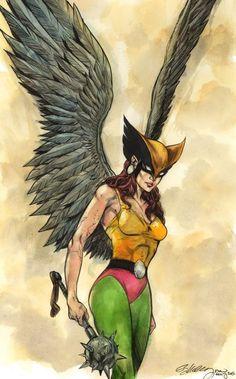 Hawkgirl - Ryan Kelly