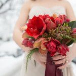 Winter Queen – Snowy Bridal Portraits by Angela Hubbard Photography