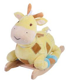 Look at this #zulilyfind! Patch the Giraffe Rocker by Rockabye #zulilyfinds