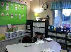 reading/teacher area...tenth avenue south: school