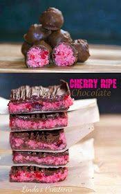 The road to loving my Thermomix: Linda's Cherry Ripe Chocolate