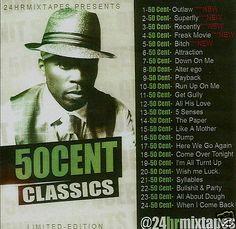 """50 Cent Classics """"The Hit Maker"""" - Collector's Mixtape Mix CD"""