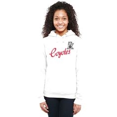South Dakota Coyotes Women's Dora Pullover Hoodie - White - $44.99