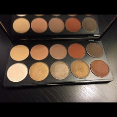MOTIVES Demure Eyeshadow Palette Swatches once, Worn once. Motives cosmetics Makeup Eyeshadow