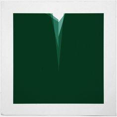 #524 Ravine – A new minimal geometric composition each day.
