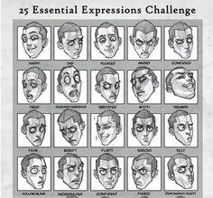 Expresiones faciales de jirafas