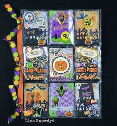 Adventures in Paperland: Outgoing Halloween Pocket Letters