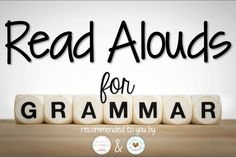 Grammar Read Alouds