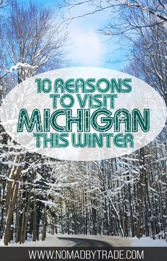 Winter in Michigan offers great indoor and outdoor activities for everyone. Check out this local's guide to the best winter activities in Michigan. #Michigan | #WinterInMichigan | #WinterTravel | Things to do in Michigan | Michigan winter activities | #PureMichigan | #DetroitRedWings | #Detroit | Things to do in Detroit