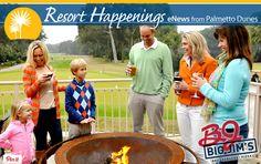 ENJOY Big Jim's BBQ, Burgers and Pizza NEW fire pit!
