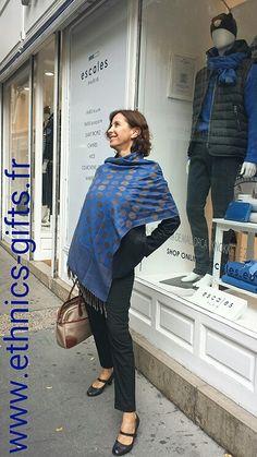 La Vie en Bleu by Ethnics Gifts Only at www.ethnics-gifts.fr ·  EcharpeFoulardBelle ... 8bb679ecf79