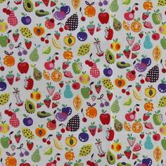 Latest Designer Fabric 'Willow Berries Multicolour' by Alexander Henry (USA). Fabric are for sale online and in our fabric shop.