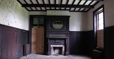 There are still ashes in the dramatic hearths of the mansion, and the mansion's halls are stunningly well-preserved.