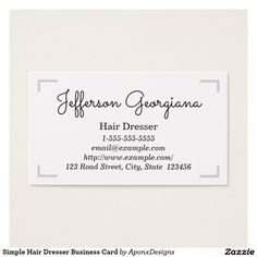Simple professional paralegal business card simple business and simple hair dresser business card colourmoves