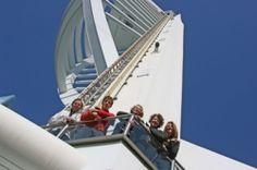 Admiral Yacht Insurance Abseils Spinnaker Tower - http://www.admiralyacht.com/admiral-news/admiral-latest-news-item.php?newsID=121 #SpinnakerTower #DukeofCornwall #SpinalTreatmentCentreCharity