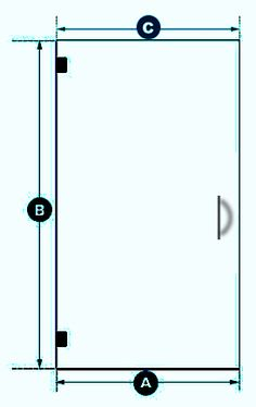 $525 for custom glass door enclosure here https://www.framelessshowerdoors.com/glass.php?cId=7&dId=4397