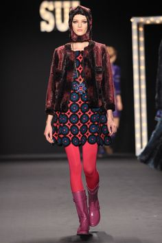 ANNA SUI FALL 2013  LOOK 31