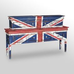Ha, love it. Union Jack console. thefoundary.com