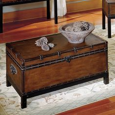 FREE SHIPPING! Shop Wayfair for Steve Silver Furniture Voyage Trunk Coffee Table - Great Deals on all Furniture products with the best selection to choose from!