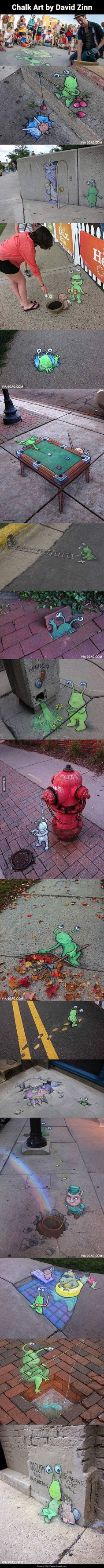 street art that is freaking awesome!