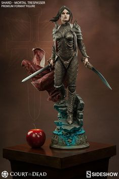 The Shard: Mortal Trespasser Premium Format Figure is now available at Sideshow.com for fans of Court of the Dead and dark fantasy collectibles.