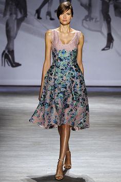 Lela Rose printemps-été 2015 #mode #fashion