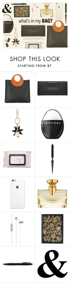 """""""Tote Bag"""" by katarina-blagojevic ❤ liked on Polyvore featuring Michael Kors, Marc by Marc Jacobs, Roger Vivier, H&M, Sephora Collection, The Face Shop, Louis Vuitton, Bulgari, Porsche Design and Sigma Beauty"""