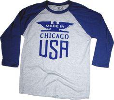 Made in Chicago Raglan