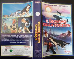 Il richiamo della foresta (Call of the Wild: Howl, Buck_Kōya no Sakebigoe. Hoero Bakku, 1981), Italian Vhs cover (2315x1877)