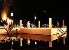 竹田薪能(岡藩城下町祭り)/大分県竹田市