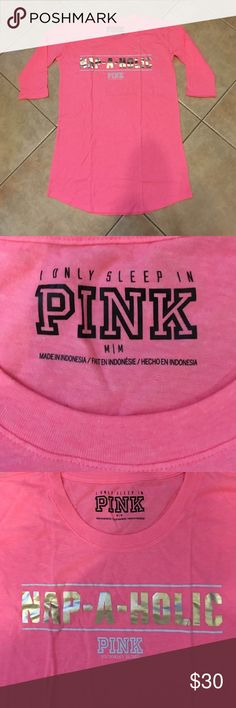 Vs Pink soft & cozy night shirt new in package So cute but I need a large! Was removed from packaging for pics. PINK Victoria's Secret Intimates & Sleepwear Pajamas