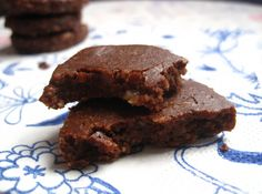 Could Be Raw Chocolate Cookies - Natural Sweet Recipes