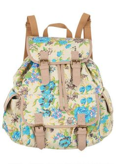 I like backpacks so much more than purses.