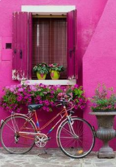 Bicycle Decor, Bicycle Art, Bike, Beautiful Flowers, Beautiful Places, Beautiful Pictures, Most Beautiful Wallpaper, Flower Backgrounds, Paint By Number