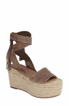 3c4ce12b7d08 Marc Fischer LTD Rabecca Lace-Up Platform Wedge (Women) Platform Wedge  Sandals