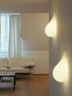 Polyethylene wall light Liquid Light Collection by Next Home Collection e.K.   design Hopf